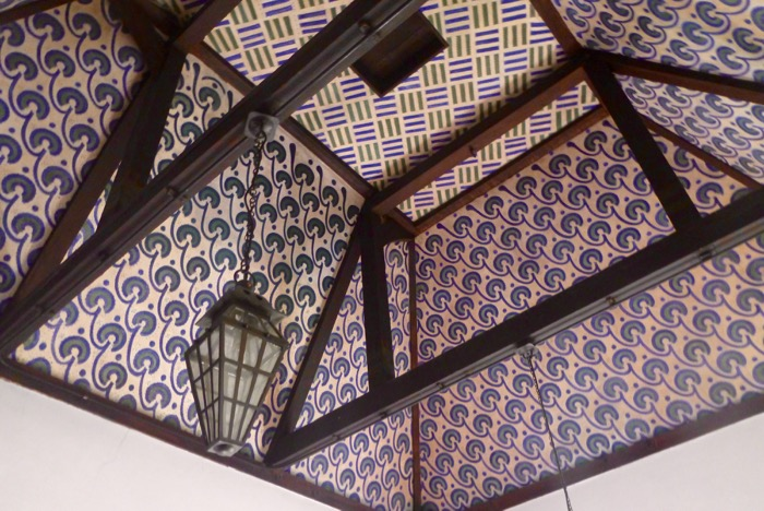 william morris ceiling design