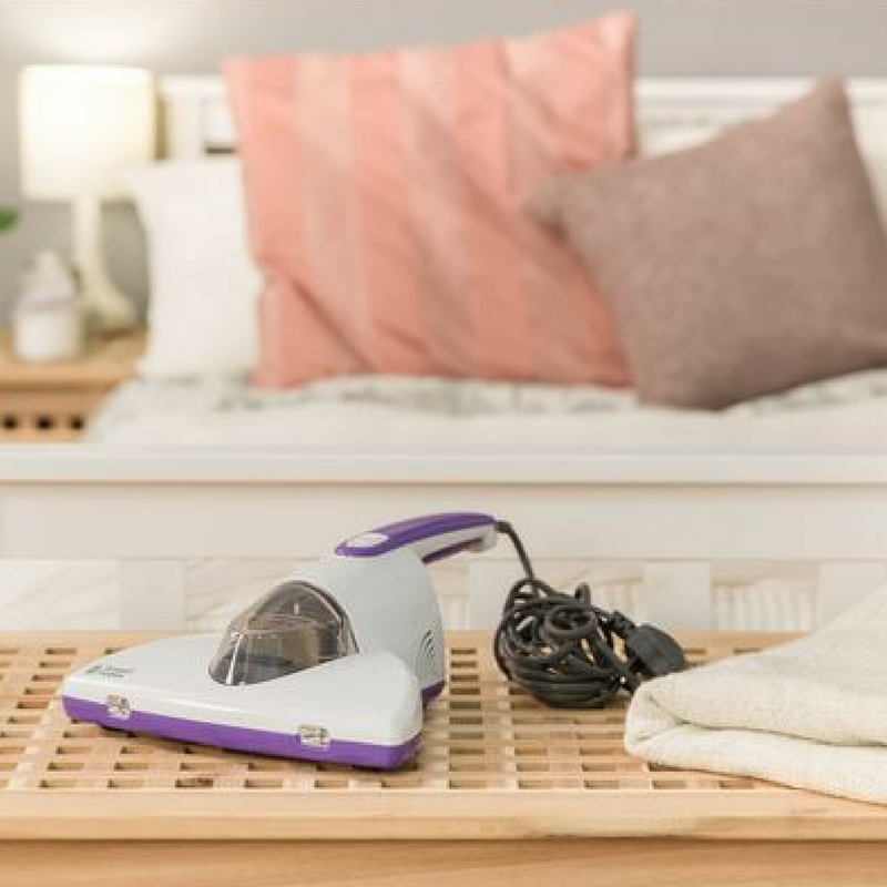 handheld vacuum for a student room