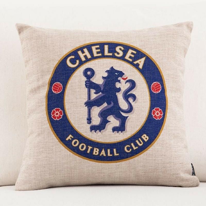 chelsea football cub pillow