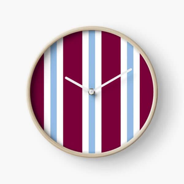 an aston villa retro style strip clock