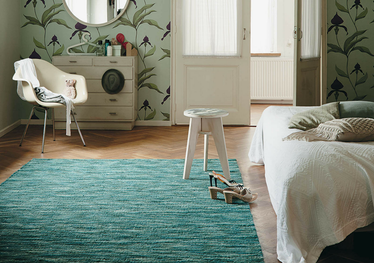 aqua blue bedroom rug
