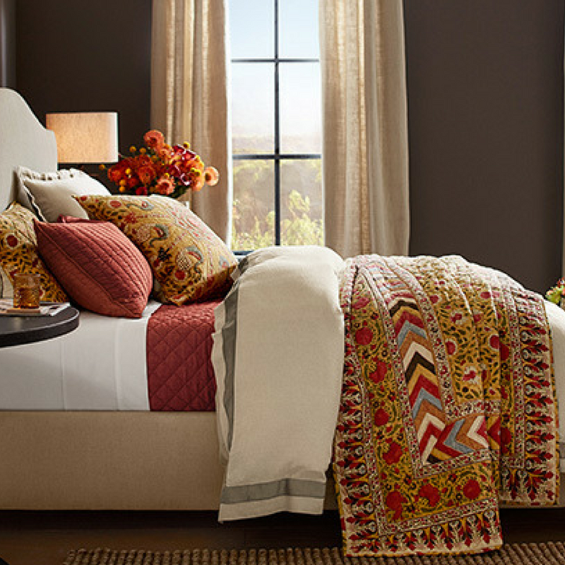 autumn bedding quilts