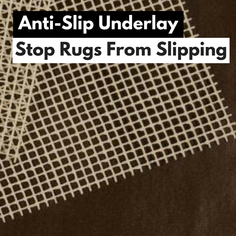 anti slip backing