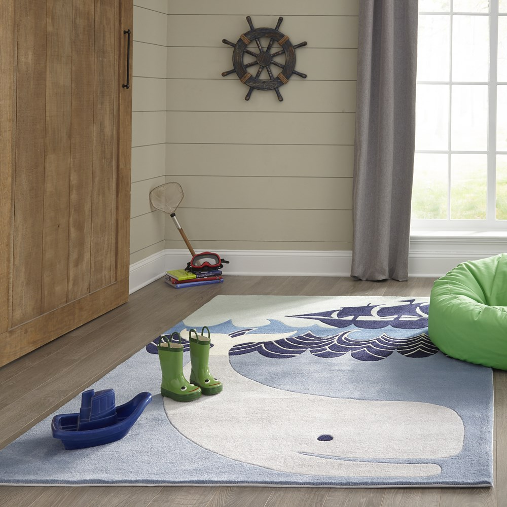 Whale Rugs lmj27 by Momeni
