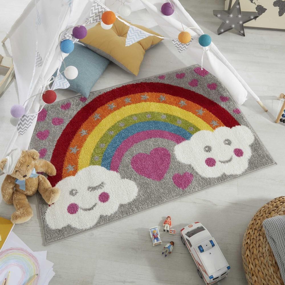 Rainbow For Heroes NHS Charity Kids Rug