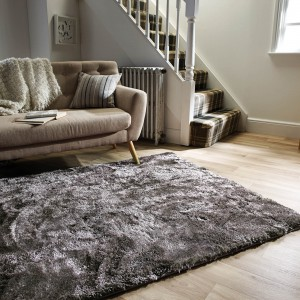 serenity rugs in a winter home