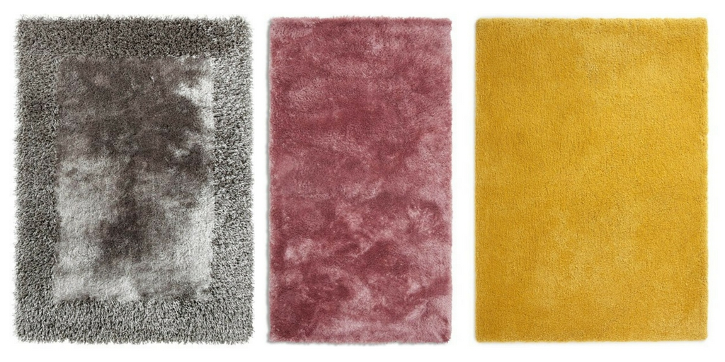different types of shaggy rug