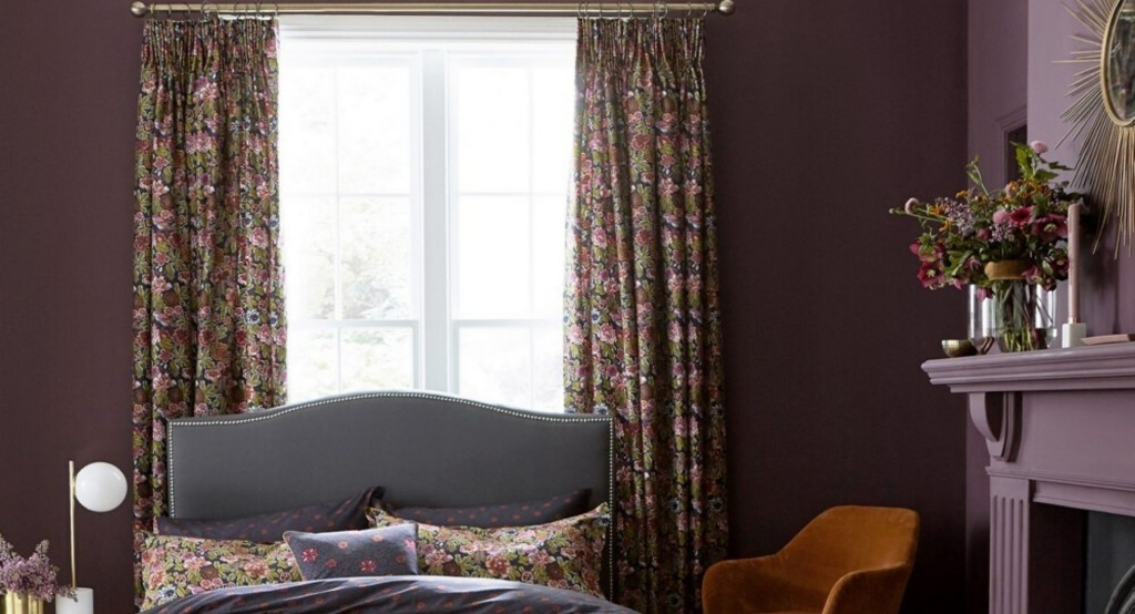 thick Hawards Curtains in a winter home