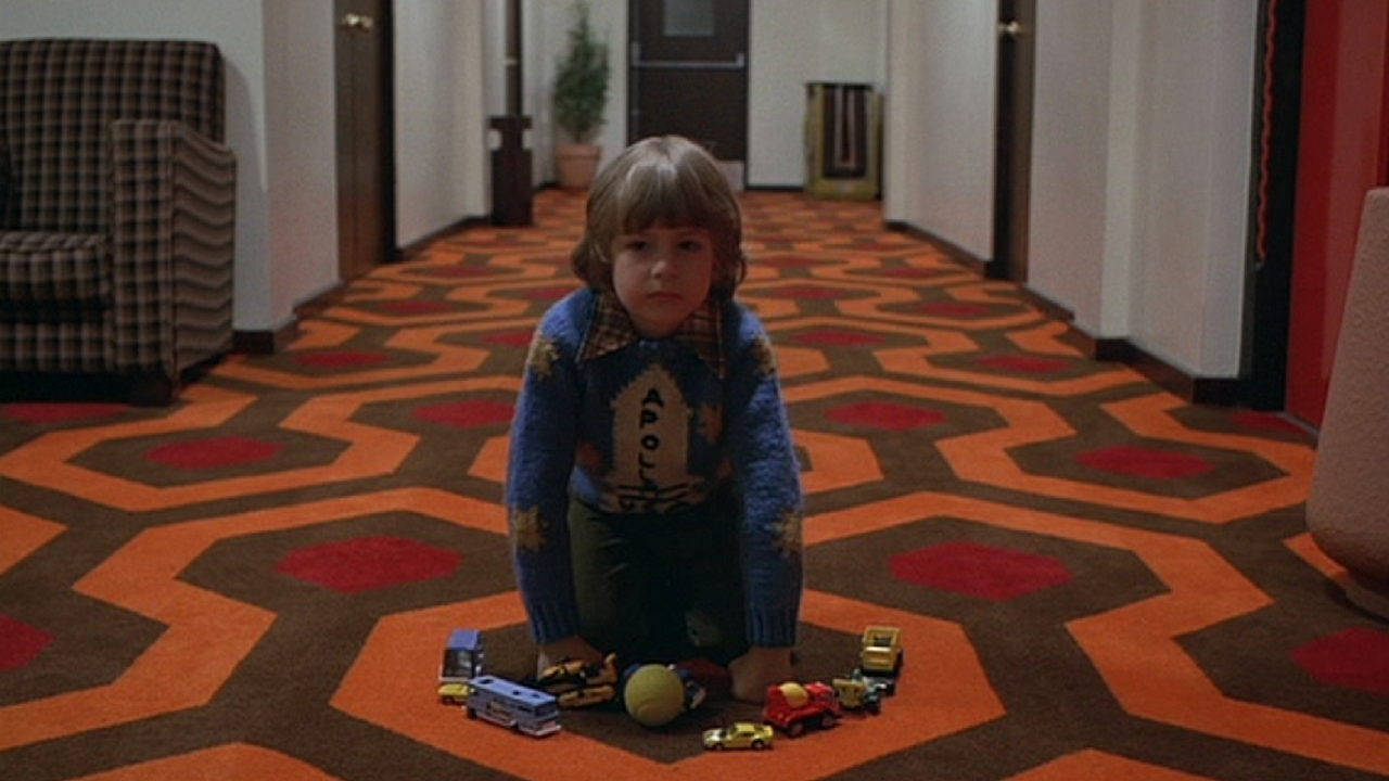 the shining movie rugs