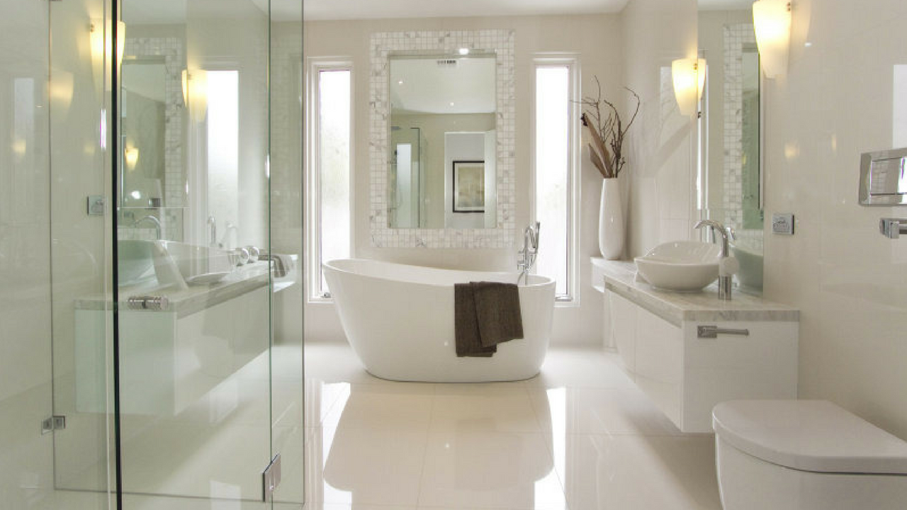 luxury hotel inspired bathroom