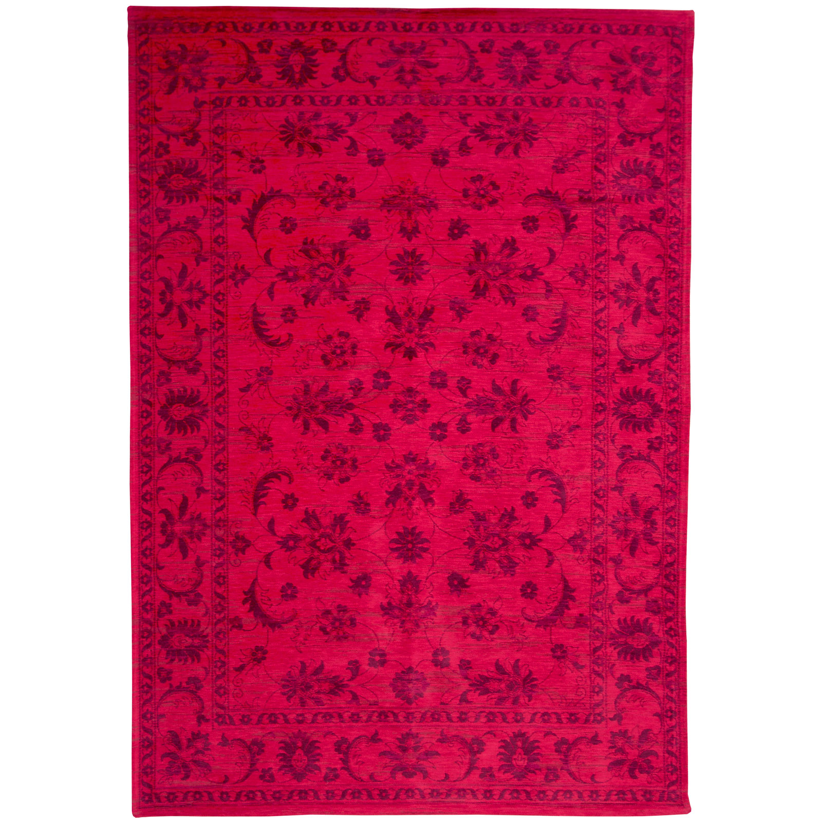 Louis De Poortere Rugs Young Urbanite Keshan 8034 Cranberry