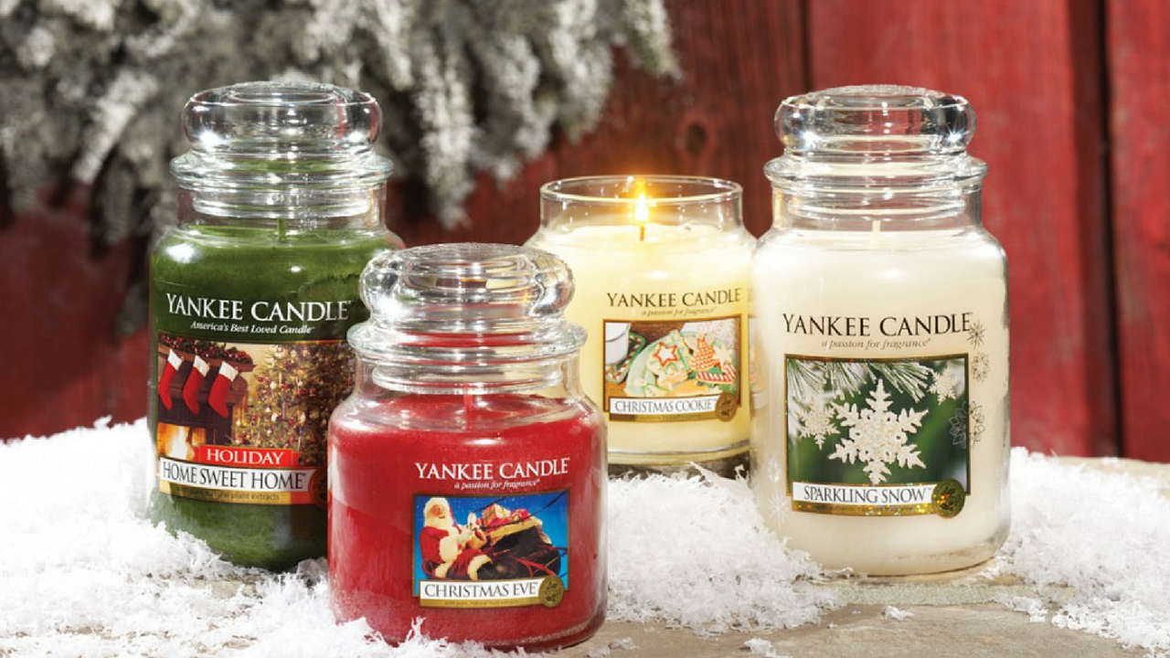 christmas yankee scented candles