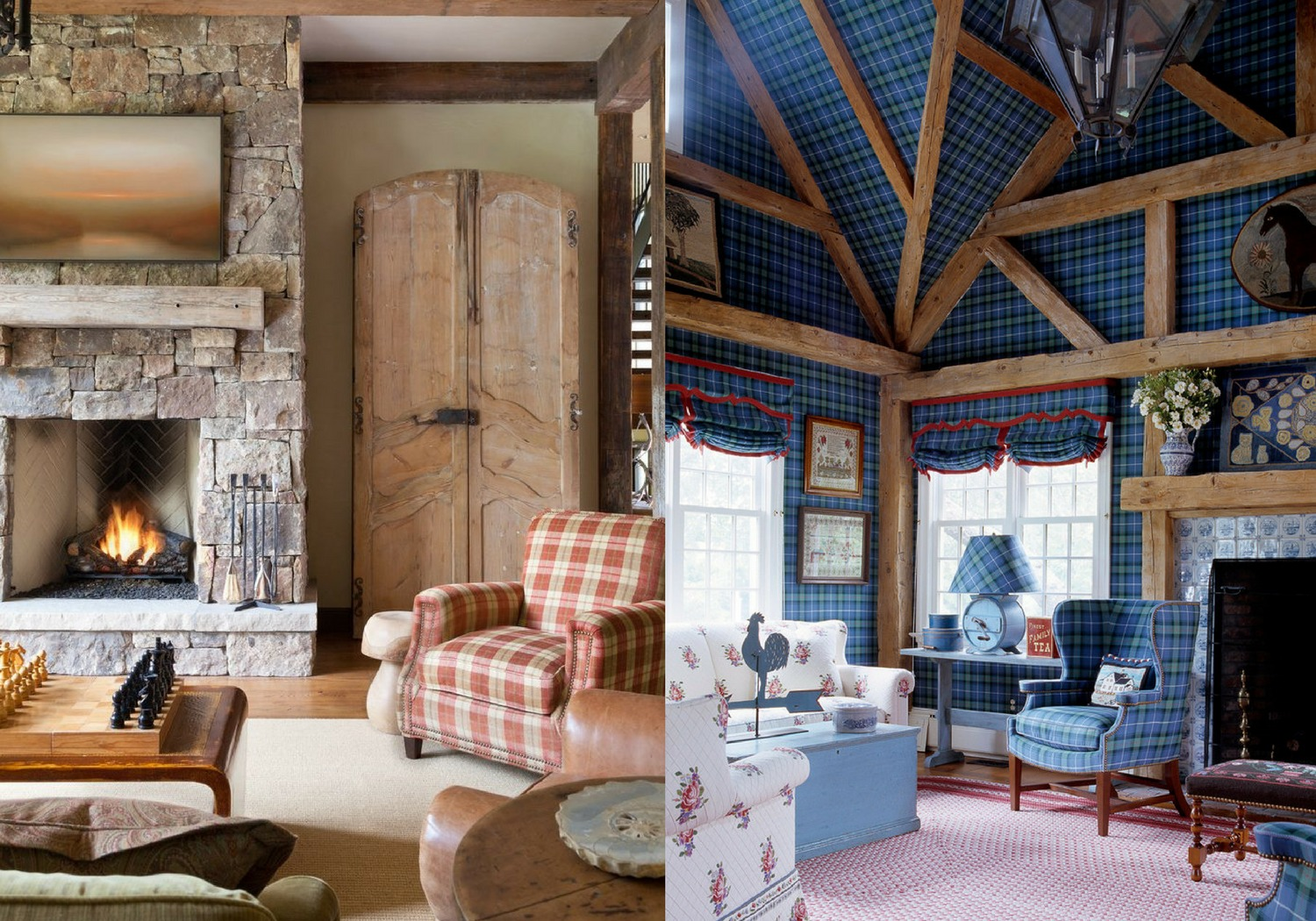 Mad For Plaid Creative Ways To Decorate With The Tartan Trend