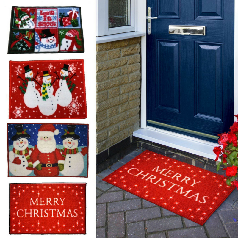 merry christmas festive mat that is discounted for black friday