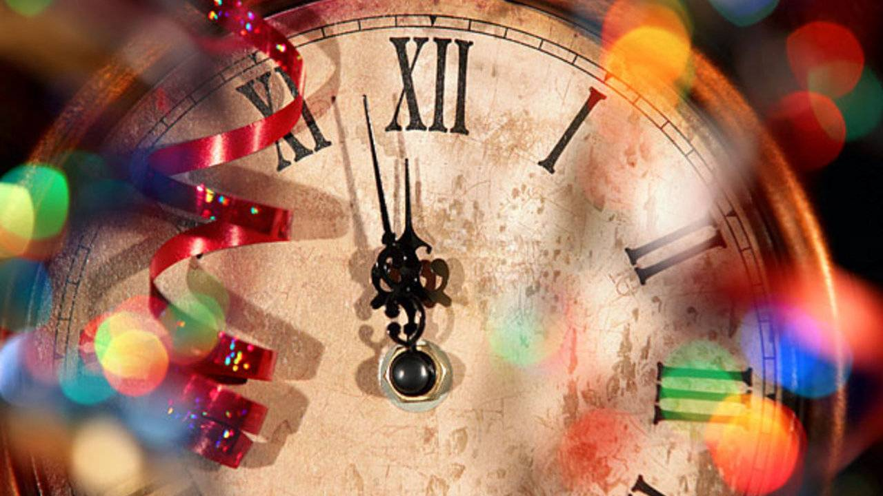 new year's eve countdown clock