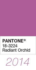 Ultra Violet Pantone Colour of the Year 2014