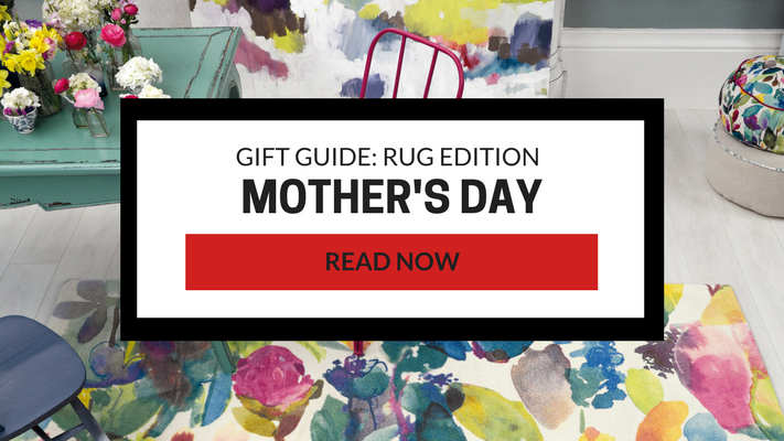 mother's day floral rug edition