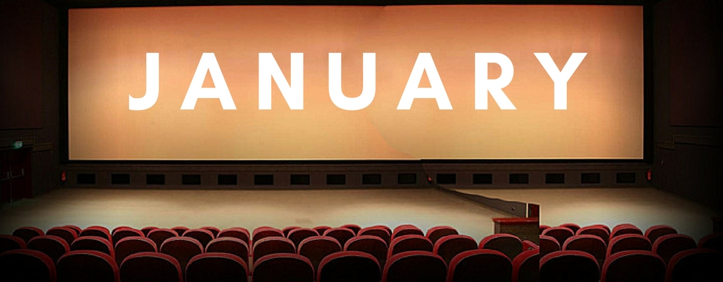 January upcoming movies of 2018