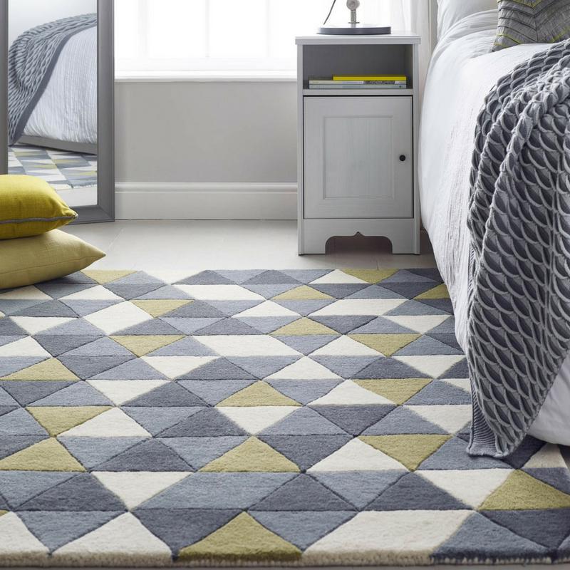 honeycomb rug