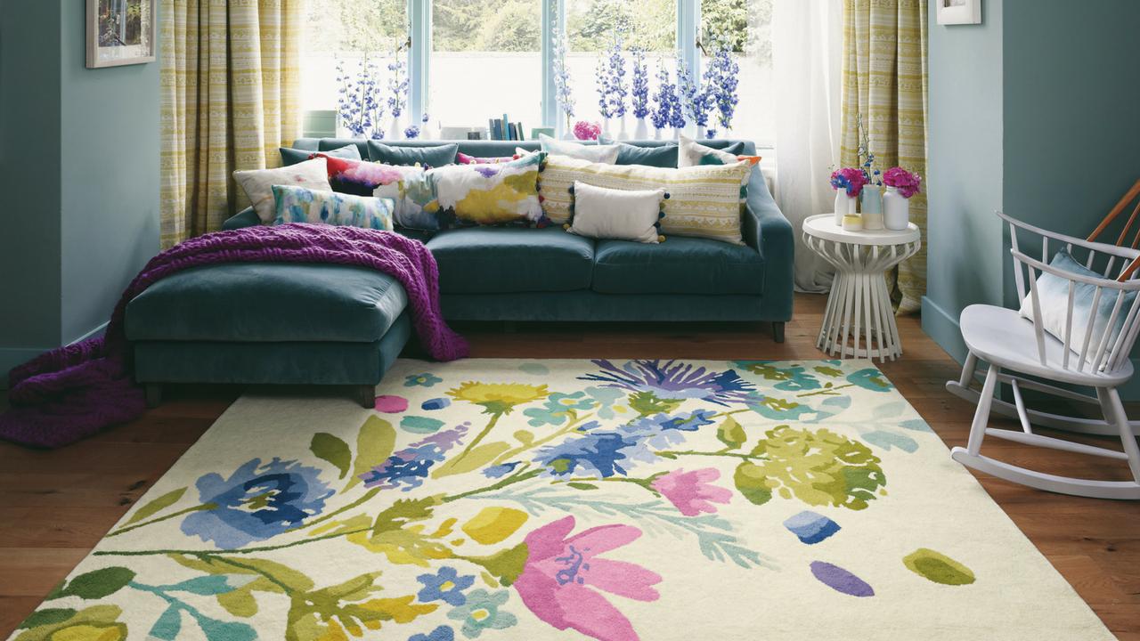 floral designer rug by Bluebellgray