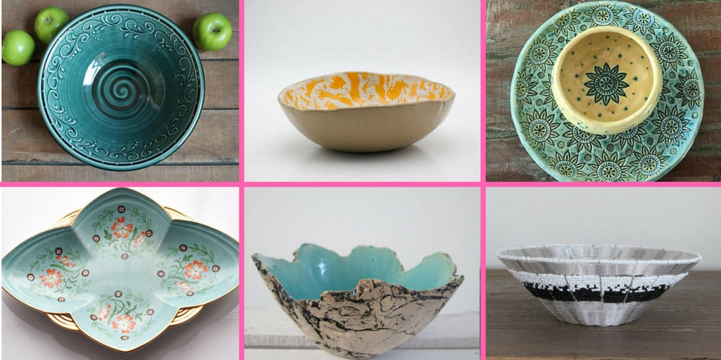 beautiful selection of decorative bowls
