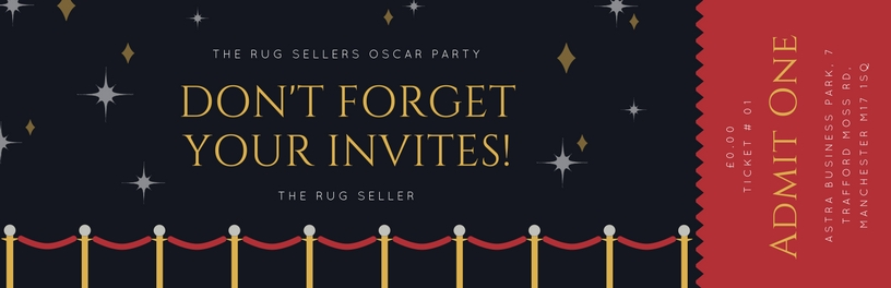 the rug seller invite ticket
