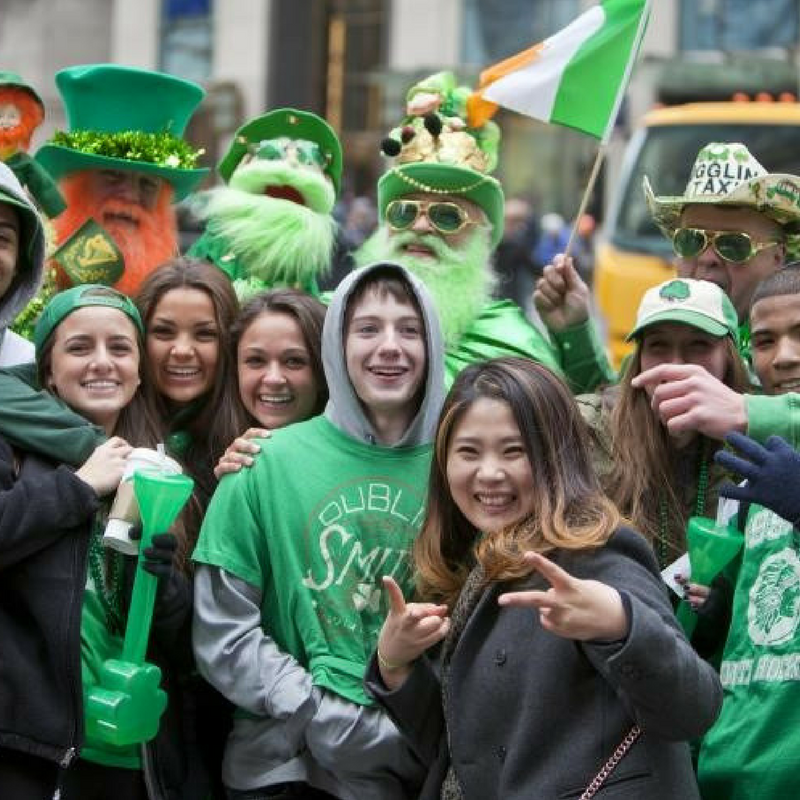 st. patrick's day parade celebrations