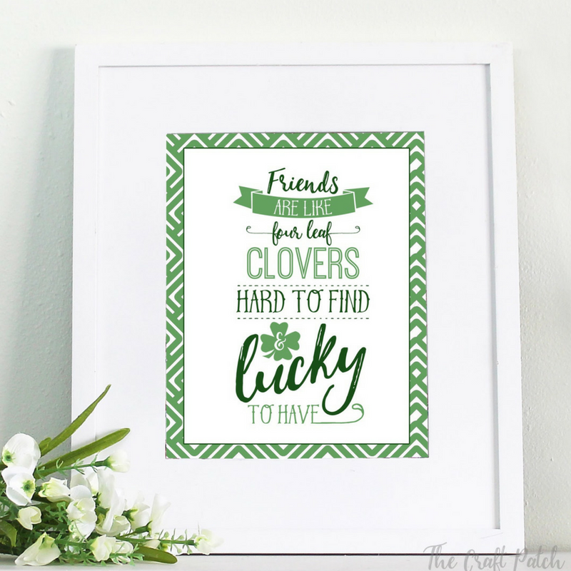 st. patrick's day wall decor