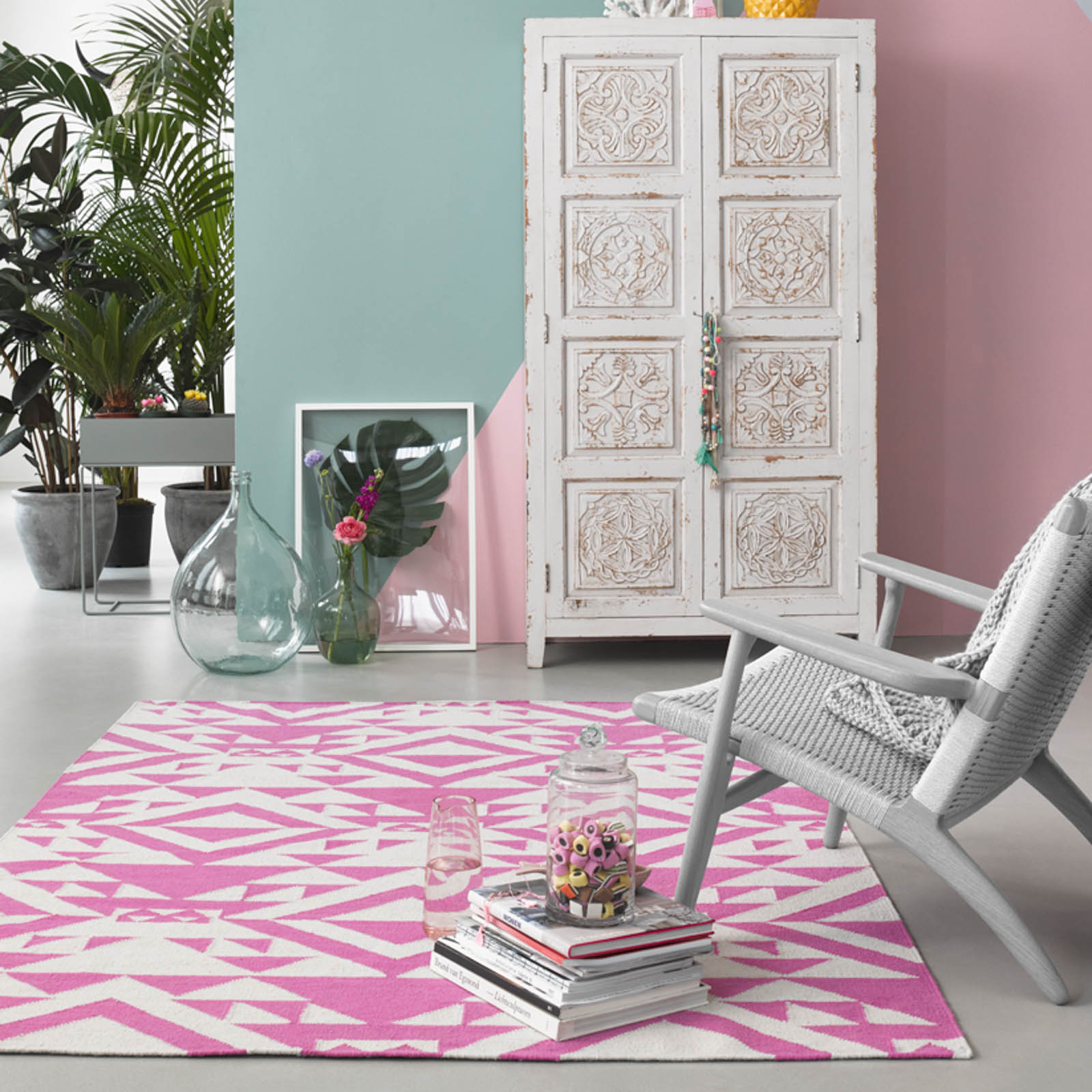 Pink Mellow rugs 004 11 by Accessorize Home