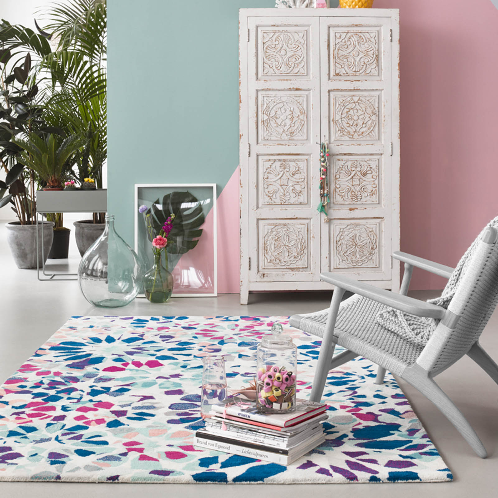 Kaleidoscopes rugs 006 10 by Accessorize Home