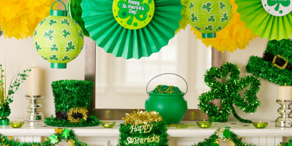 st. patrick's day home decor decorations