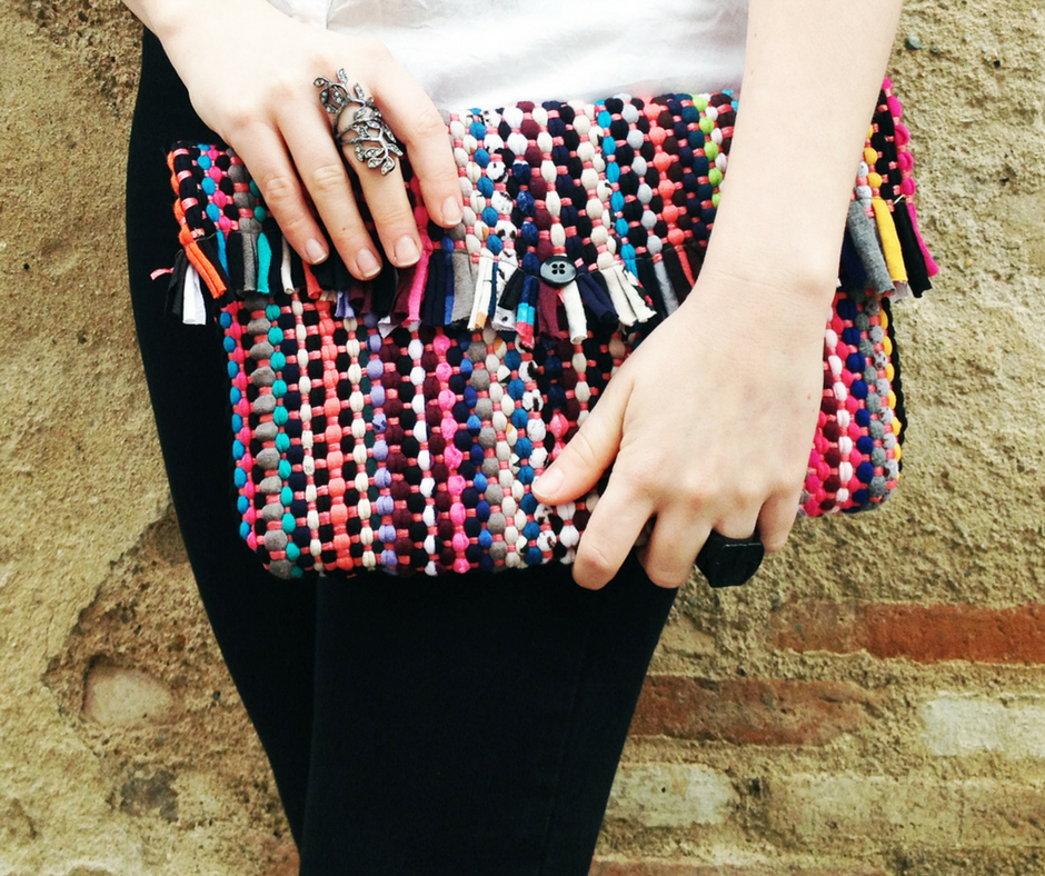 diy bolso alfombra upcycle your rug
