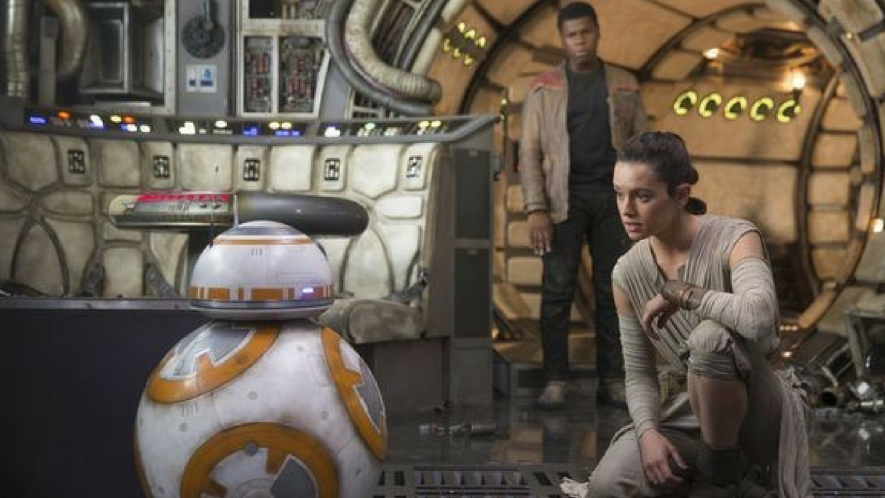 Star Wars May the 4th be with you Rey, Finn and BB-8 in Star Wars The Force Awakens
