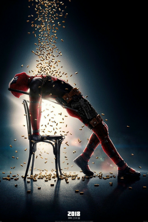 Deadpool 2 Movie Poster Replicating Flashdance
