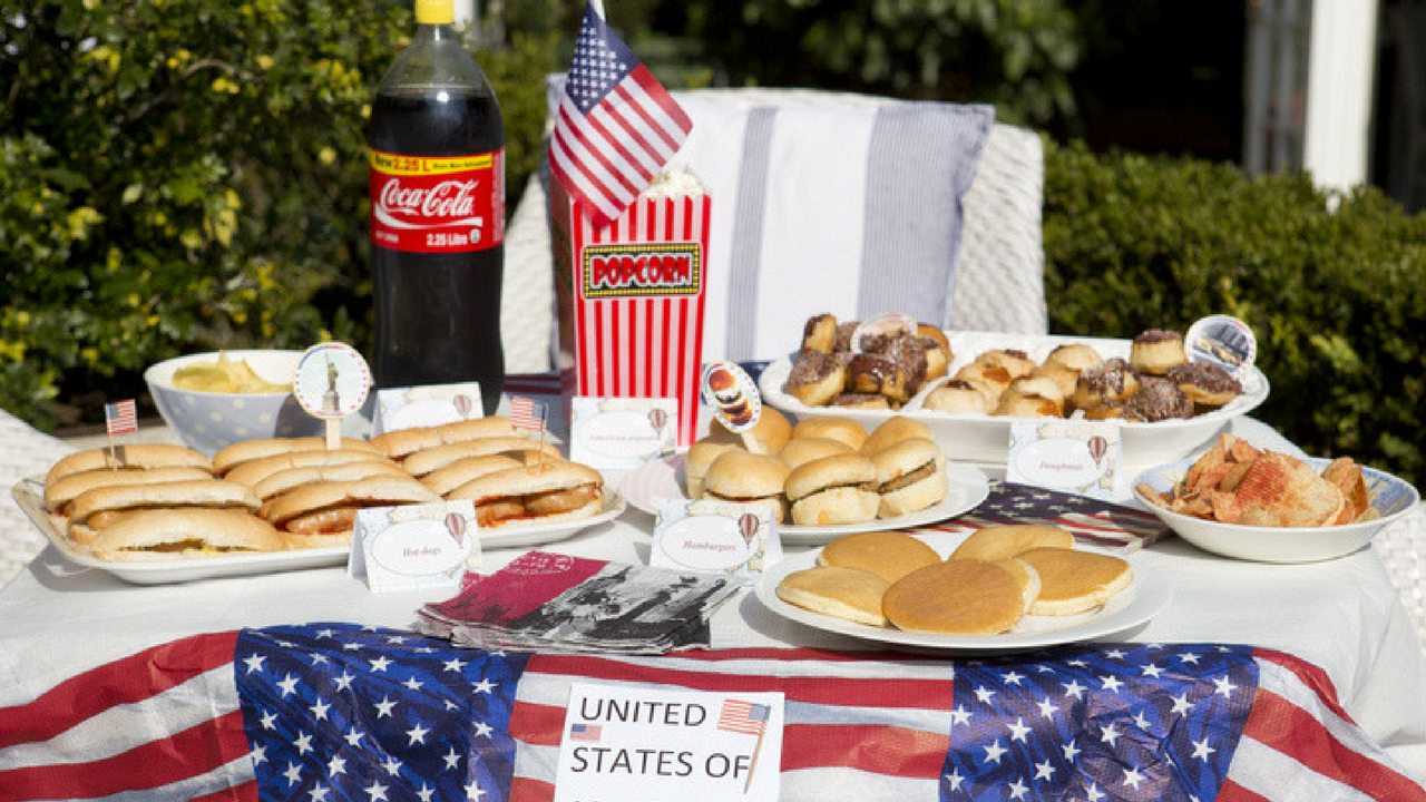 Royal Wedding USA American food for Meghan Markle