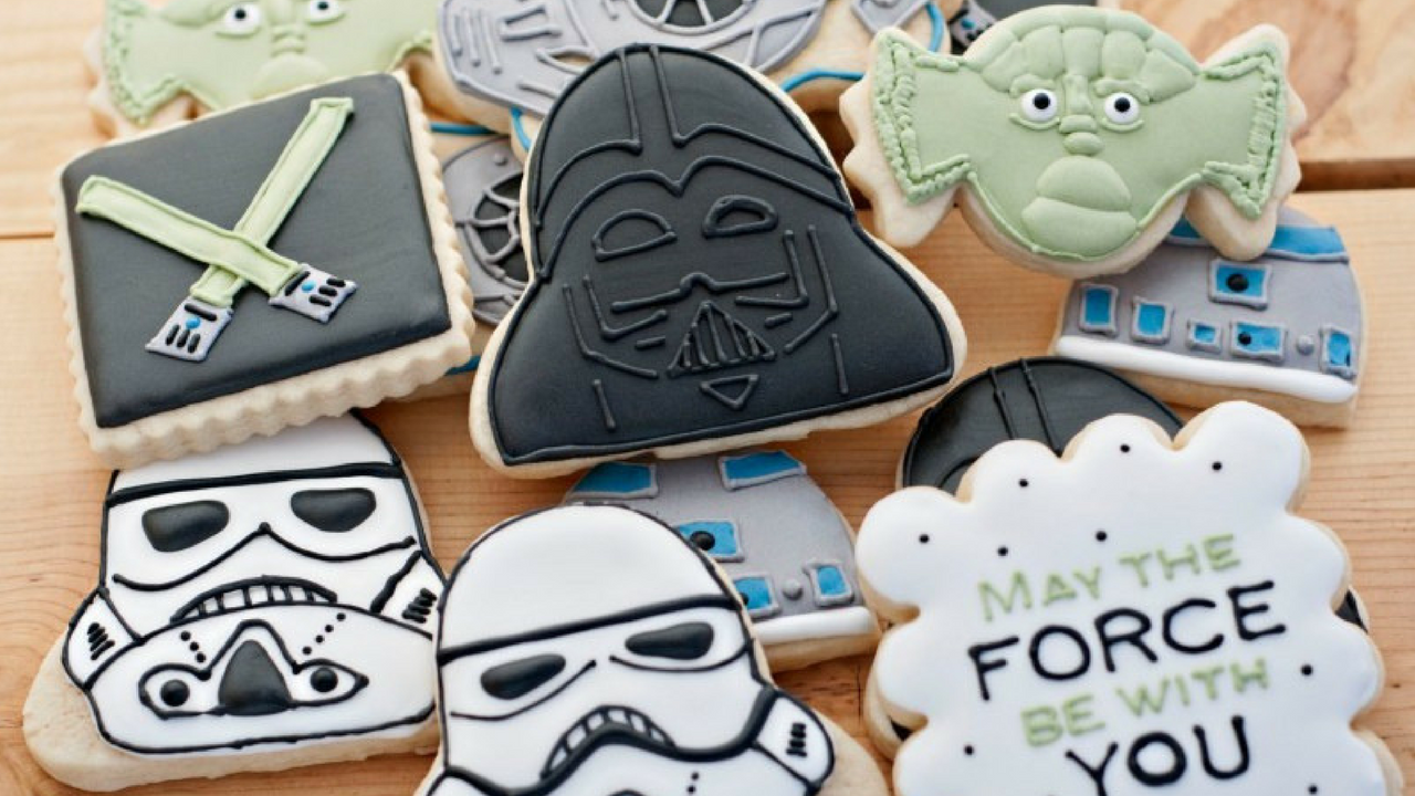 Star Wars May the 4th be with you Cookies and Biscuits in Star Wars characters