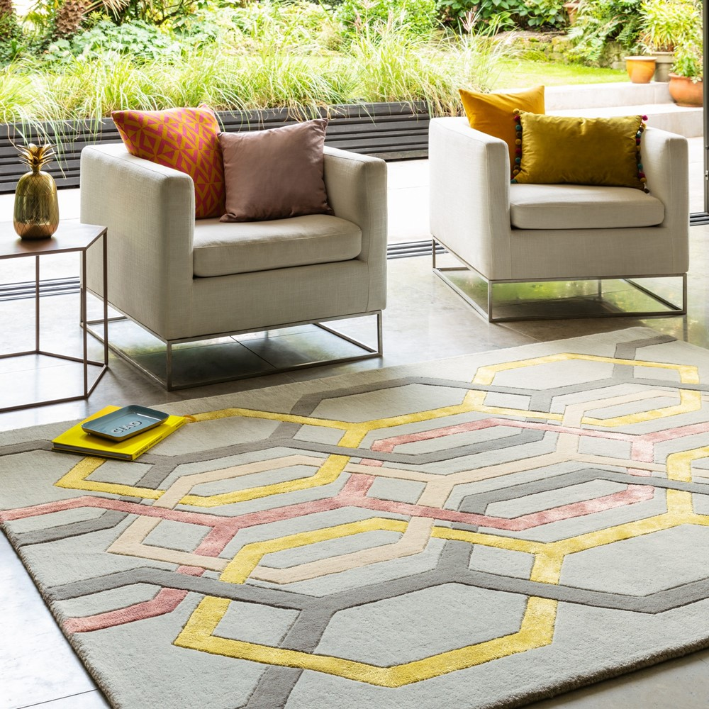 Geometric Patterns Rugs from The Rug Seller