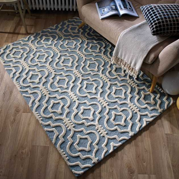 Geometric Patterns Rugs from The Rug Seller Moorish