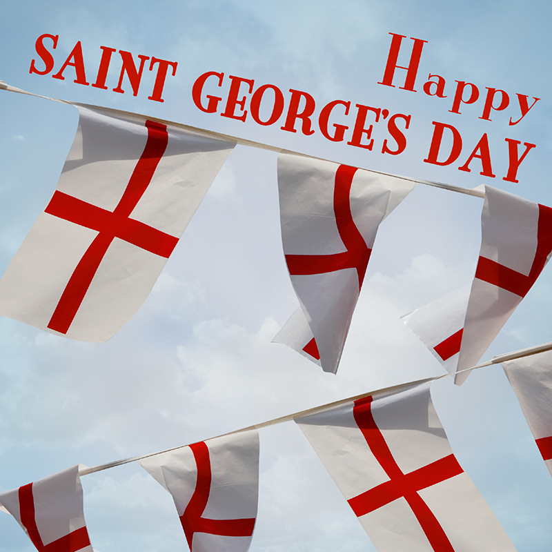 St. George's Day flag wreath featured image