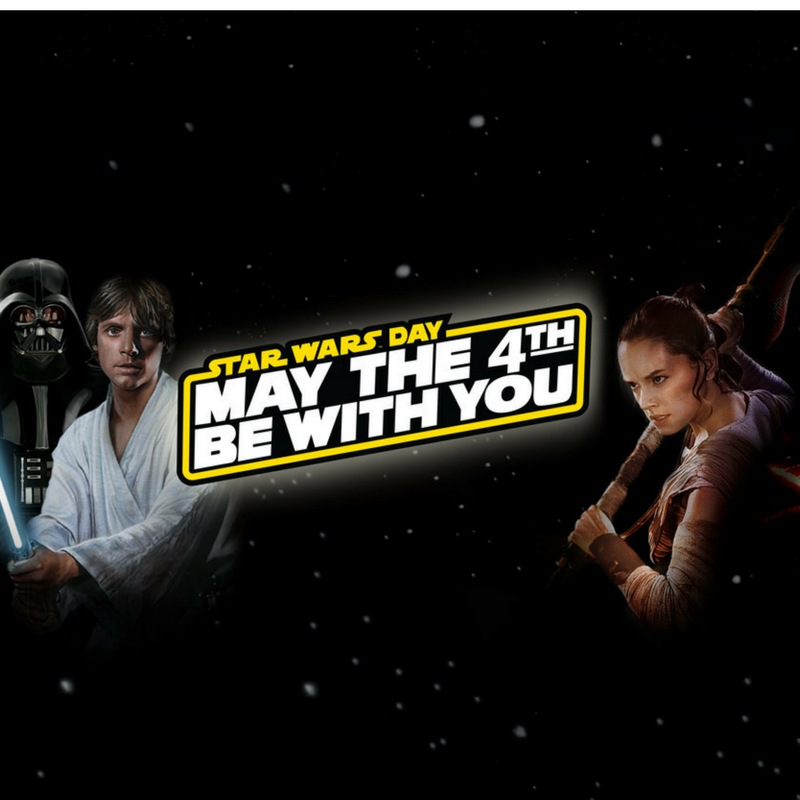 Star Wars May the 4th be with you featured image