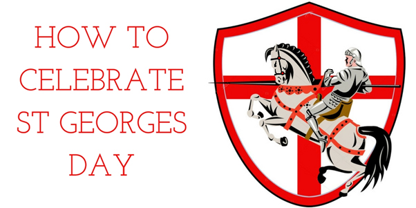 how to celebrate St. George's Day banner image graphic