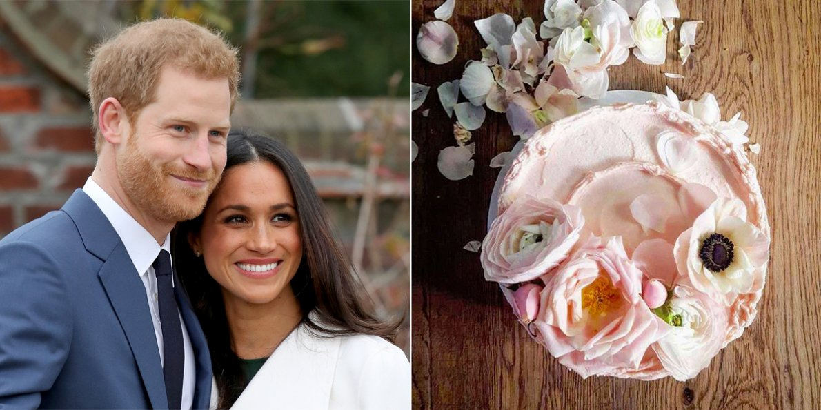 Royal Wedding Food and Drink Options Elderflower and Lemon Cake