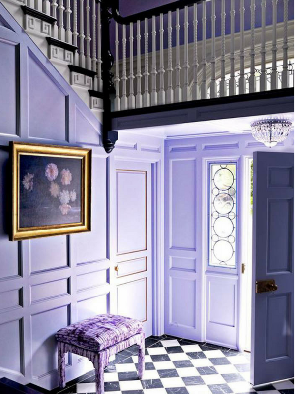 Ultra Violet Purple Walls