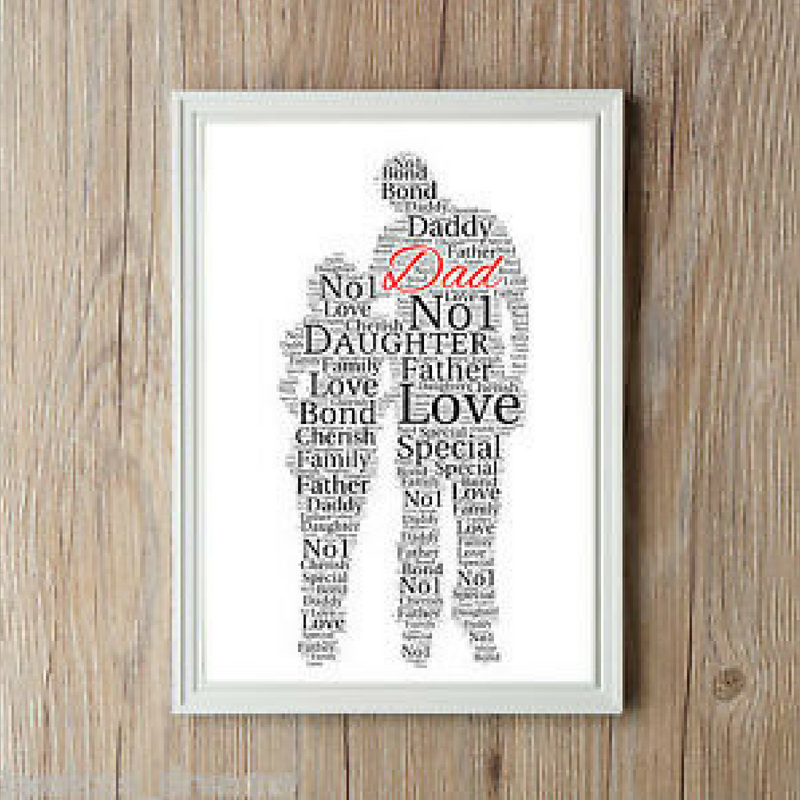 Father's Day Word Art