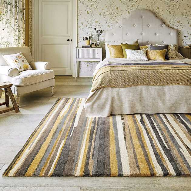Elsdon Rug 44006 in Linden by Sanderson