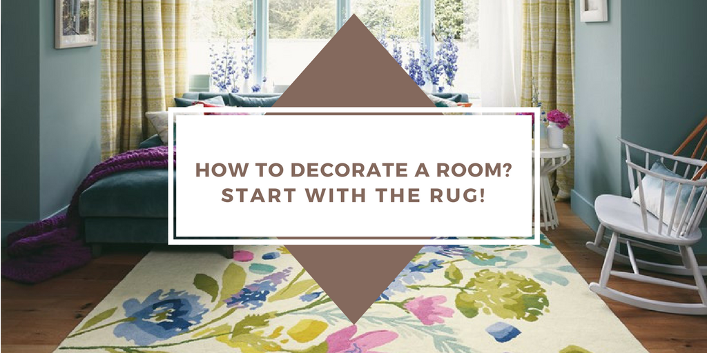 How to decorate a room? Start with the rug banner image