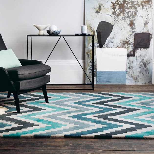 Romo Scala rug 2003 in Teal