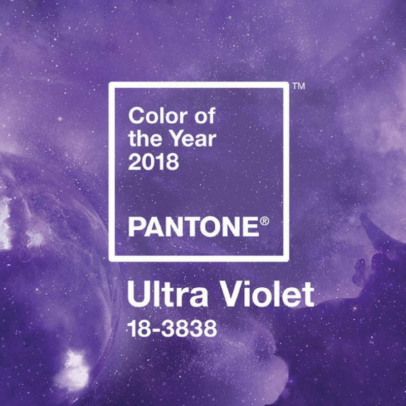 Ultra Violet Pantone's Colour of the Year