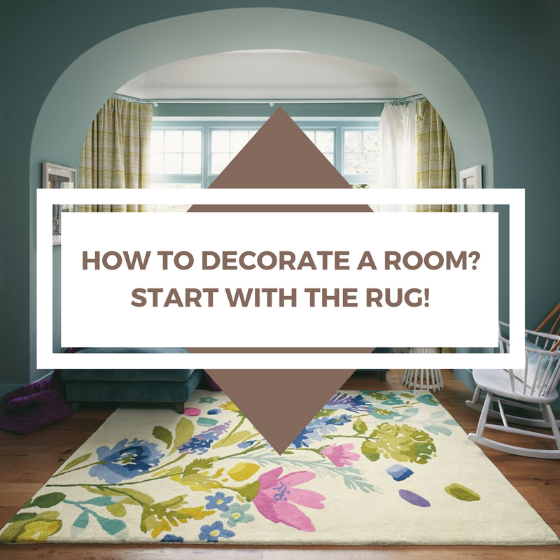 How to decorate a room? Start with the rug featured image