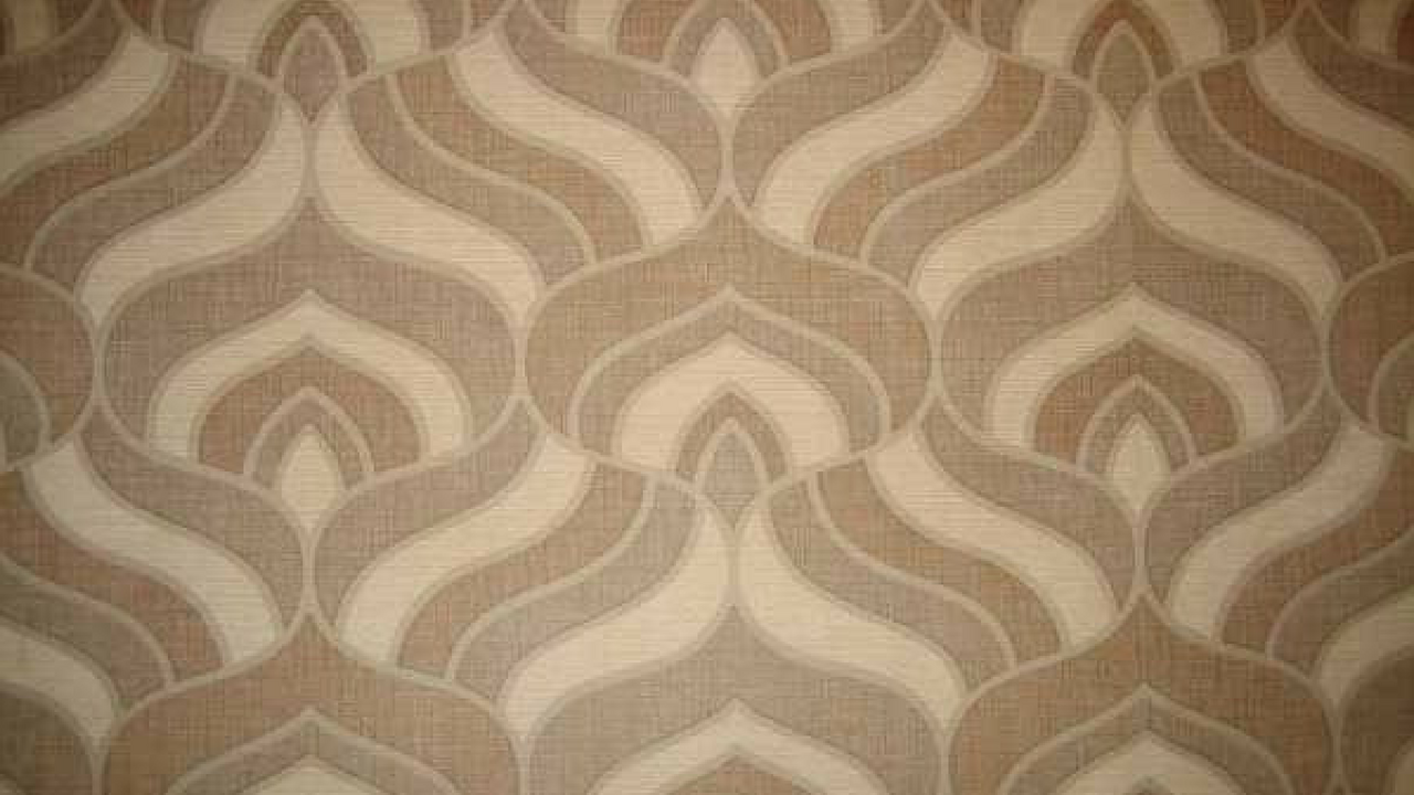 1970s inspired brown wallpaper